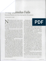 why stimulus fails