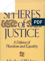 Spheres of Justice. a Defense of Pluralism and Equality. Michael Walzer