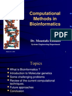 Computational Methods in Bioinformatics-Dr Elshafei