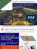 Basic Principles Os Electromechanics