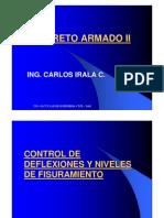 Control de Deformaciones - Concreto Armado II
