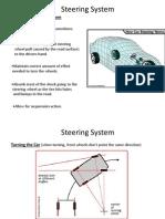 Steering System Vinay