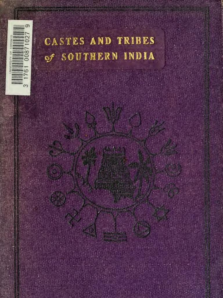Castes & Tribes of Southern India - Volume 7 (Tabelu-Zonnala