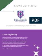 Fajr Academy Brochure