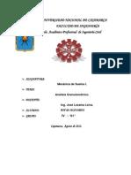 Infome 2-Clasificacion SUCS y AASHTO