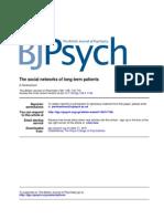 Abrahamson, D. - The Social Net-works of Long Term Patients