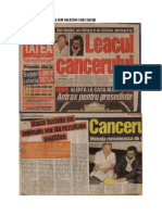 Tratamentul Cancerului prin Denervare (healing cancer by denervation)
