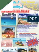 Pamflet Rekreasi Ke Bali