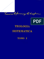 Teologia Sistematica - Lewis s Chafer Tomo 1 Vol 1
