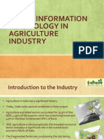 Use of IT in Agriculture