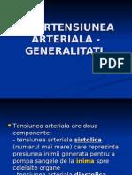 HIPERTENSIUNEA ARTERIALA - GENERALITATI