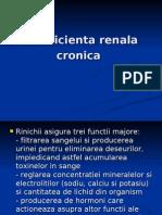 Insuficienta renala cronica