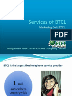 Services of BTCL