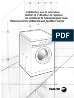 Máquina lavar Fagor 3f-2611_3612it_3610it