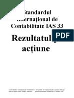 IAS Standardul International de Contabilitate IAS 33