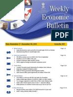 India Weekly Trade Bulletin