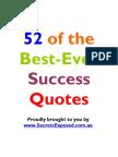 52 Best Ever Success Quotes[1]