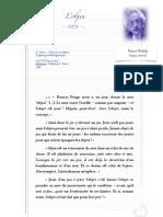 FEDIDA, Pierre - L'Objeu