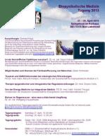 Flyer GBM-Tagung 2013