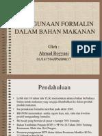 Ppt Formalin