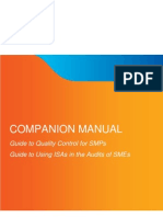 SMP ISA Quality Control Guides Companion Manual