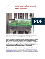 The Muslim Brotherhood is a Faux-Theocratic Sectarian Extremist Movement