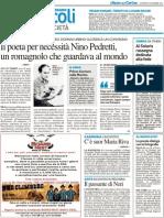 Il Poeta per necessità Nino Pedretti - Il Resto del Carlino del 29 novembre 2012
