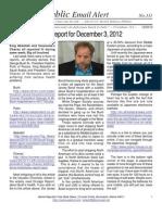 311 - Benjamin Fulford Report for December 3, 2012