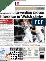 Swansea City 1-0 Cardiff City