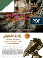 Brochure Nomad Dance Fest-India 2013