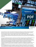BVMF Presentation - December 2012