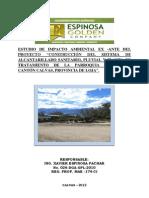 Resumen Ejecutivo EsIA-Alcantarillado Sanguillín