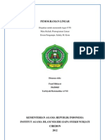 UTS Pemograman Linear
