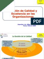 Gestion de Calidad en Las Organizaciones