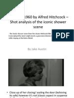 Psycho Powerpoint Shoit Analysis Shower Scene