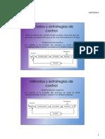 Introducción metodos y estrategias de control