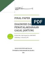 Diagnosis Dan Penatalaksanaan Chf