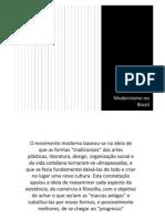 8. Modernismo No Brasil