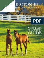 2013 Lexington Visitors Planning Guide