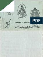 Armée-de-Marie-CHANTS-et-PRIERES-1973