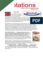 Bulletin 12.11.12