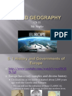 World Geography Chapter 11