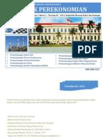 Booklet Statistik Perekonomian Triwulan III 2012