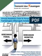 Tinjauan Ekonomi Keuangan Edisi Bulan November 2012