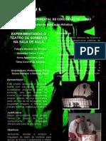POSTER - Apresentação Do Projeto Experimentando teatro de sombras na sala de aula