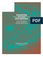 Meaning across disciplines