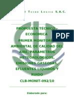 CLB-MONIT-092-10 propuesta 1º Monitoreo Ambiental Planta San Miguel de Sur (2)
