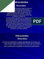 Hidrocoloides.