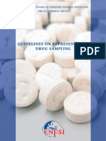 LQT-De003 Guidelines on Represemtative Drug Sampling