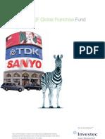 Global Franchise Fund Brochure
